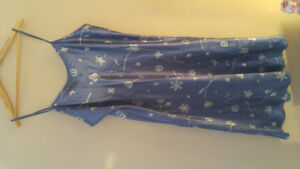 FOR SALE-- 2 PRS OF SILKY PAJAMAS AND 1 SILKY NIGHTGOWN