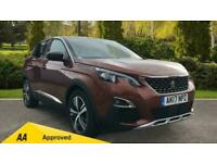 2017 Peugeot 3008 1.2 PureTech GT Line 5dr Manual Petrol Estate