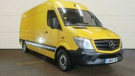 2015 65 MERCEDES-BENZ SPRINTER LWB HIGH ROOF 313 CDI 6 SPEED WITH AIR CONDITIONI