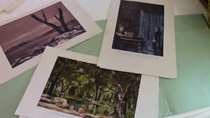 From the Capehart Collection, 6 Art Prints Kitchener / Waterloo Kitchener Area image 2