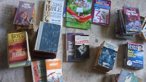 ATTN: EBay, Vintage stores, book sellers, readers-LOTS of BOOKS