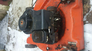 two lawnmower moters 3.5 hp