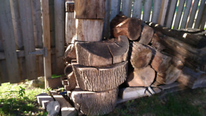 Live Edge logs / rounds- garden accents