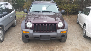 04 jeep liberty 4x4 safety and e-test inc. London Ontario image 2