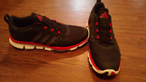 Men's size 12 black and red adidas