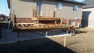 Postech Screw Pile Footings For Decks, Additions, Sunrooms! Windsor Region Ontario image 1