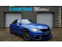 2014 14 BMW 4 SERIES 2.0 420D M SPORT 2D AUTO 181 BHP *ALLOYS INCLUDED* DIESEL