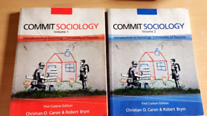Commit Sociology Volume 1 and 2 - University of Toronto