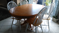 REDUCED!  Table with six chairs