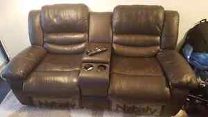 Couch Recliner and Chair - 3 Seater Combo