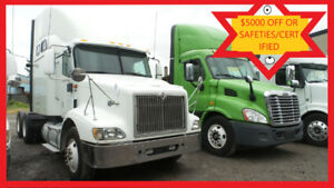 2007 INTERNATIONAL, NO DPF Free  Safeties/Certified or $5000 OFF