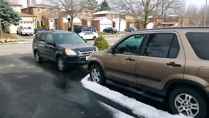 2 x 2002 CRV EX-AWD with Winter Tires on Both!