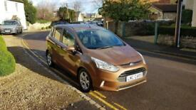 2014 (64) Ford B-Max 1.6TDCi ( 95ps ) Zetec ONLY 24,000 MILES £20/YEAR TAX