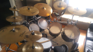 Pearl Masters/Cymbals/Black Beauty Snare