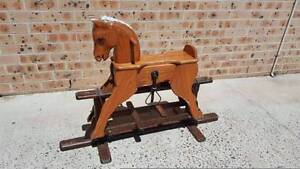 wooden rocking horse Greenfield Park Fairfield Area Preview