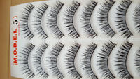 Set of 10 False Lashes for Sale