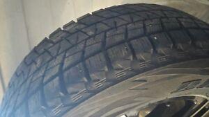 pneus et mag d hiver 245/65/r17