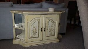 Cream coloured hutch