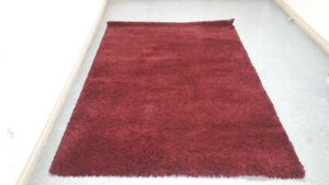 Costco Red/Burgundy Shag Rug