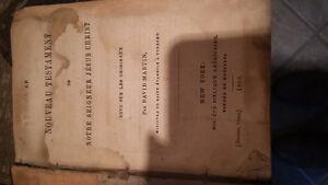 Nouveau testament 1866 à 1910 Gatineau Ottawa / Gatineau Area image 2