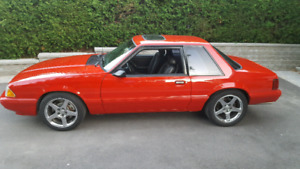 93 Mustang LX coupe
