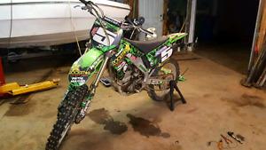 blown dirt bike