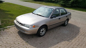 1998 TOYOTA COROLLA VE, NEW SAFETY, NEW TIRES, BC CAR