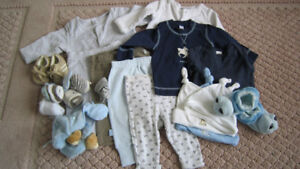 GAP/ H&M/ Tommy boys clothes and accessories 0-3 months