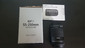 Canon EFS55-250mm f/4-5.6 IS