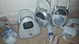 Baby monitor and 2 received