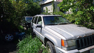 1998 Jeep Grand Cherokee Gold SUV, Crossover