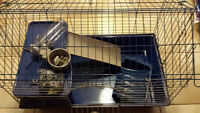 small animal cage for guinea pig/rabbit.