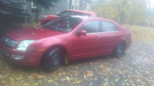 2008 ford fusion no papers parts only