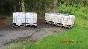 Totes, Water Tanks, Containers 1040L Used Non Food Grade.