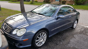 2003 Mercedes-Benz CLK-Class 500 Coupe (2 door)