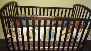 Nursery Furniture - Change table, dresser, crib and mattress