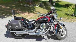 2005 Yamaha V- star 1100 classic, low kms (asking $4,200 OBO)