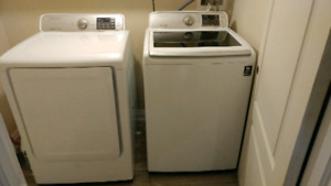 samsung. 2 year old waher dryer