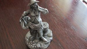 Franklin Mint fine pewter figurines from 1977