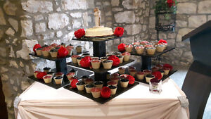 Wedding cupcake trays