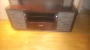 Retails over 1000.great shape. Entertainment unit priced to sell