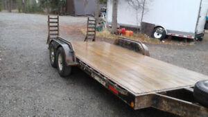 2007 traillteck 18foot 2 7000 pound axles