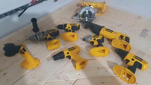 DeWalt tool set. 18v