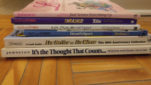 6 Cartoon books