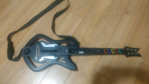 Special Edition Guitar Hero Guitar (very rare) for Wii
