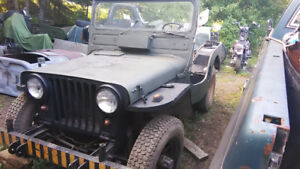1952 m38 Ford Willy's Canadian army military jeep project