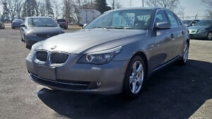 2008 BMW 5-Series 528xi Sedan 2 YEAR WARRANTY INCLUDED