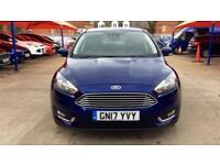 2017 Ford Focus 1.0 EcoBoost 125 Titanium 5dr Manual Petrol Hatchback
