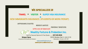 Buy Visitors Insurance. Keep Yourself & Your Family Protected.