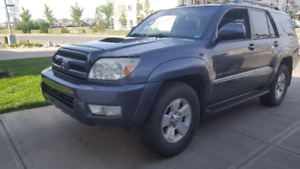 2005 limited edition Toyota 4runner